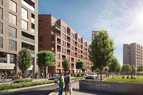 Colindale Gardens住宅新区,打造伦敦置业生活新地标